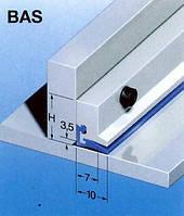 Очищающий скребок серий BAS и MA, для защиты направляющих станков.