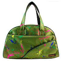 Сумки фитнес Tiger спортивная сумка  арт зеленый