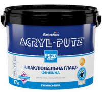 Шпаклевка готовая акриловая финишная Снежка Acryl-Putz (готовая)  27 кг
