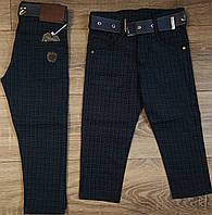 Стильные штаны,джинсы для мальчика 2-6 лет(черные клетка)  пр.Турция