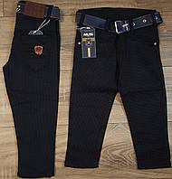 Стильные штаны,джинсы для мальчика 2-6 лет(черные точка)  пр.Турция