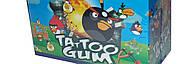 Жевательная резинка Angry birds с Тату 100 шт (Китай)