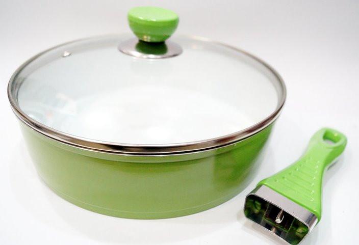 Сковорода с керамическим покрытием Giakoma 24 см G-1018-24 White