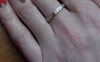 Кольцо из серебра для женщин