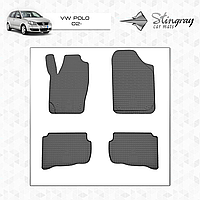 Коврики резиновые в салон Volkswagen Polo c 1994 (4шт) Stingray