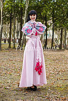Платье с вышивкой 117-05