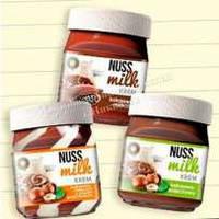 Шоколадний крем NUSS milk 400g (12шт/ящ)
