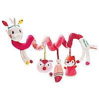 Lilliputiens - Спиральная игрушка-подвеска единорог Луиза