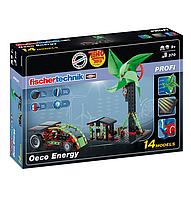 Конструктор Fischertechnik Экологическая энергетика 370 деталей (FT-520400)
