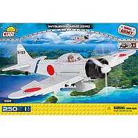 Конструктор Cobi Вторая Мировая Война. Самолет Мицубиси А6М2 Зеро 250 деталей (COBI-5515)