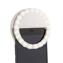 Светодиодное кольцо для селфи Selfie Ring Light, фото 3