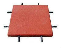 Резиновая плитка для уличных игровых площадок, фото 1