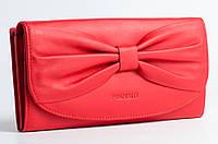 Красный кошелек с бантом Prensiti