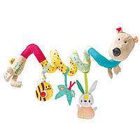 Lilliputiens - Спиральная игрушка-подвеска медведь Цезарь