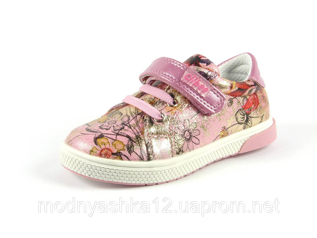 Детские туфли-мокасины Clibee для девочек a4abc189d0ca9