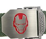 Тактичний пояс «Iron Man» 110 см темно-сірий, фото 2