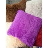 "Наволочка на подушку мех ""травка"" размер 50*70 см"
