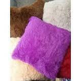 """Наволочки на подушки """"травка"""" 50*50 см длинный ворс, фото 6"""