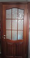 Дверь межкомнатная из массива натурального дерева.