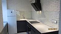 Кухонный фартук - Скинали из прозрачного стекла