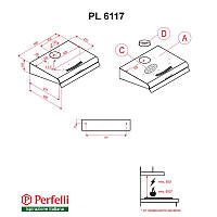 Вытяжка Perfelli PL 6117 I