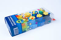"""Пальчиковые краски """"Гамма"""" 10 цветов и штампы,№5010,набор для творчества и развития"""