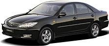 Защита двигателя на Toyota Camry 30 (2002-2006)