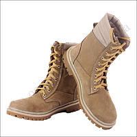 Берцы летние облегченные, обувь для военных, нубук койот