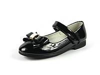 Туфли детские для девочек Apawwa, лак искусственный, размеры 34