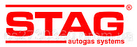Комплект 4ц. STAG- 4 QBOX PLUS, ред. STAG R01 250 л.с. (185 кВт), ЭМК газа Valtek, форс. Hana 2001 Single тип В (красные)+распр, ф. 16/11, компл