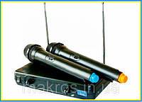 Микрофони UKS 500-2 радиосистема 2-ва микрофона