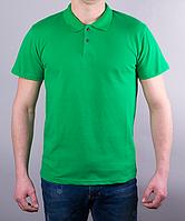 Поло мужское цвет зелёный