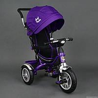 Детский трехколесный велосипед надувные колеса Best Trike 5388