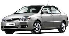 Защита двигателя на Toyota Corolla Е12 (2001-2007)