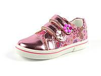 Детские туфли-мокасины Clibee для девочек, искусственная кожа, стелька кожа ортопед, размеры 27