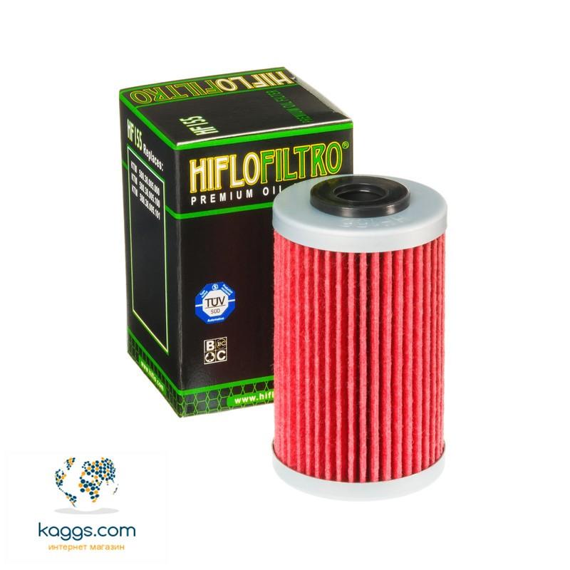 Масляный фильтр Hiflo HF155 для Betamotor, Husaberg, Husqvarna, KTM, Polaris.