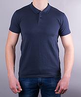 Поло мужское цвет темно-синий