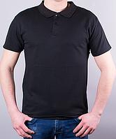 Поло мужское цвет черный