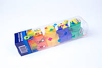 """Пальчиковые краски """"Гамма"""" 5 цветов и штампы,№5005,набор для творчества и развития, фото 1"""
