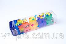 """Пальчиковые краски """"Гамма"""" 5 цветов и штампы,№5005,набор для творчества и развития"""
