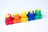 """Пальчиковые краски """"Гамма"""" 6 цветов и штампы,№5006,набор для творчества и развития"""