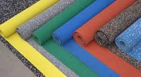 Резиновое напольное покрытие в рулоне