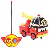 Пожарник Рой на радиоуправлении, 15 см, Robocar Poli (83186)