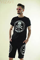 "Мужской спортивный костюм ""Philipp Plein"" в двух цветах. Материал трикотаж. Размер 46,48,50,52"