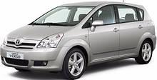 Защита двигателя на Toyota Corolla Verso (2004-2009)
