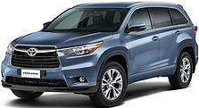 Защита двигателя на Toyota Highlander (2013-2019)