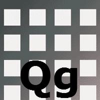 Перфорированный лист Qg производство