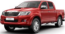 Защита двигателя на Toyota Hilux (2010-2015)