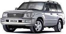 Защита двигателя на Toyota Land Cruiser 100 (1997-2007)