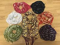 """Шарфы """"Золотые"""", женские стильные шарфы"""
